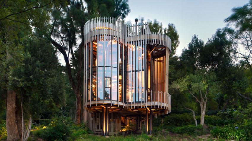 Ảnh nhà trong rừng đẹp