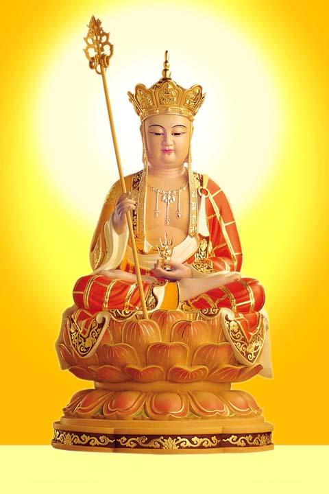 Ảnh Phật Địa Tạng đẹp