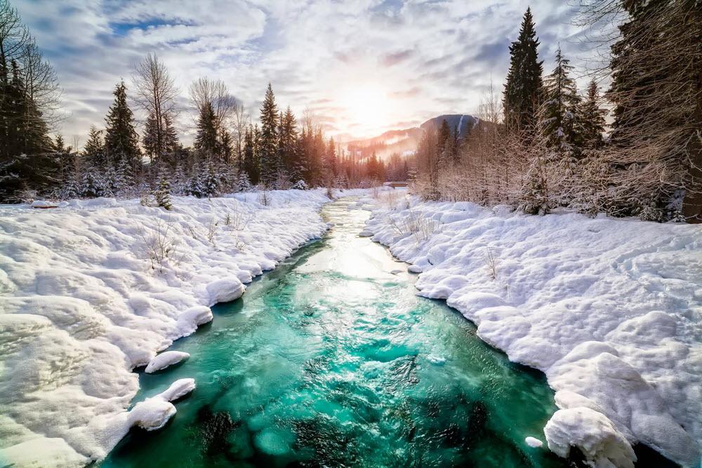 Ảnh thiên nhiên sông băng đẹp nhất thế giới