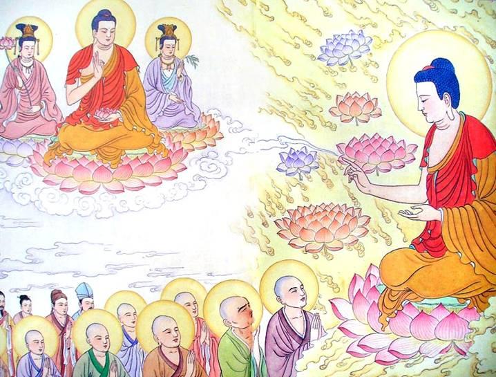Ảnh tranh Phật A Di Đà đẹp