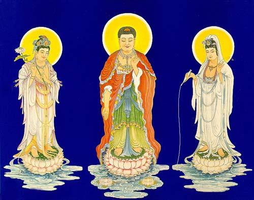 Hình ảnh ba vị Phật