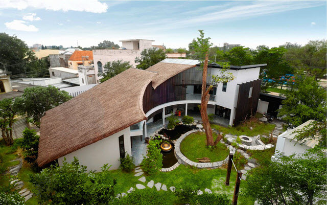 Hình ảnh căn nhà mái lá đẹp