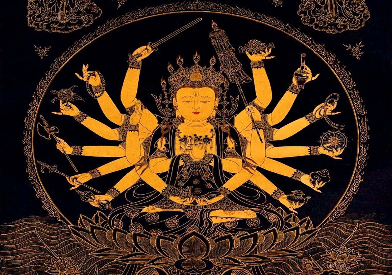 Hình ảnh đẹp Phật nghìn tay