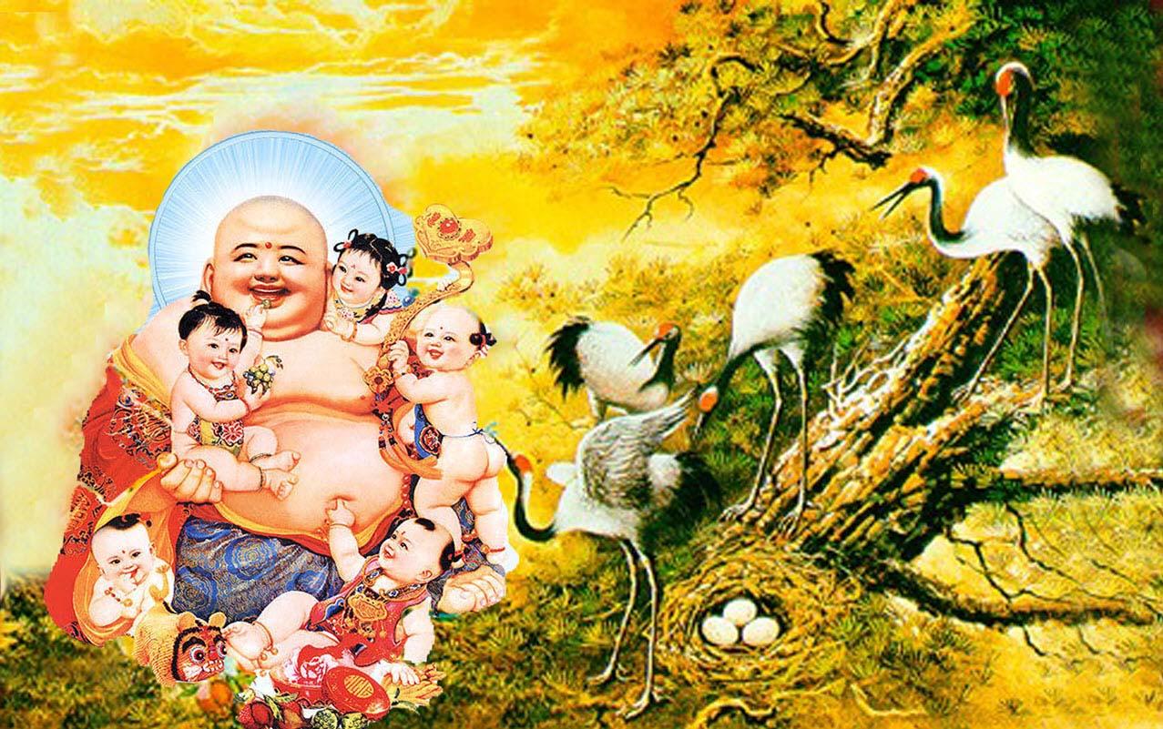 Hình ảnh đức Phật Di Lặc đẹp nhất