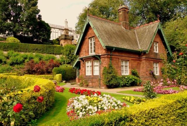 Hình ảnh nhà có vườn đẹp