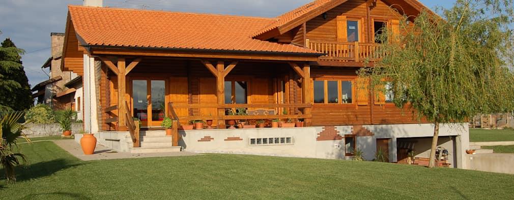 Hình ảnh nhà gỗ đẹp