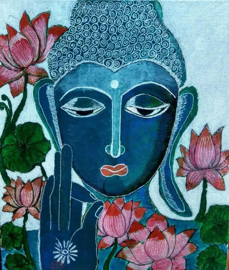 Hình ảnh Phật hoa sen