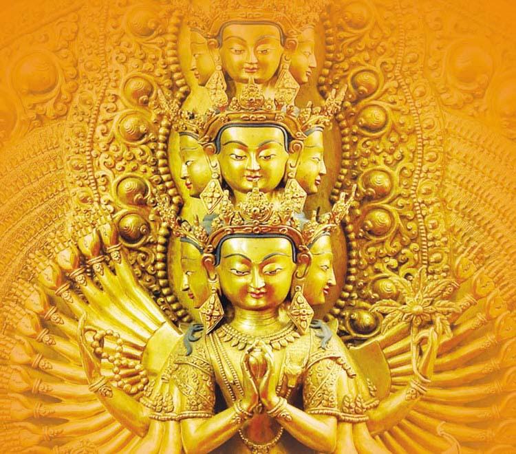 Hình ảnh Phật nghìn tay