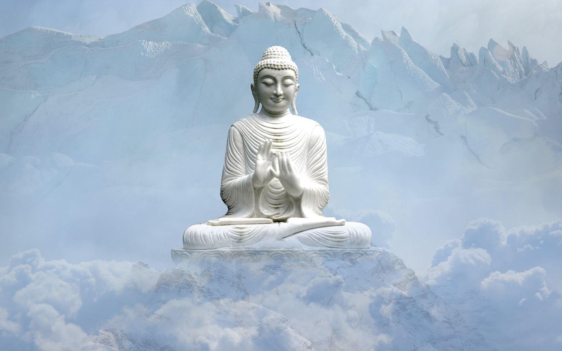 Hình ảnh Phật trên núi đẹp
