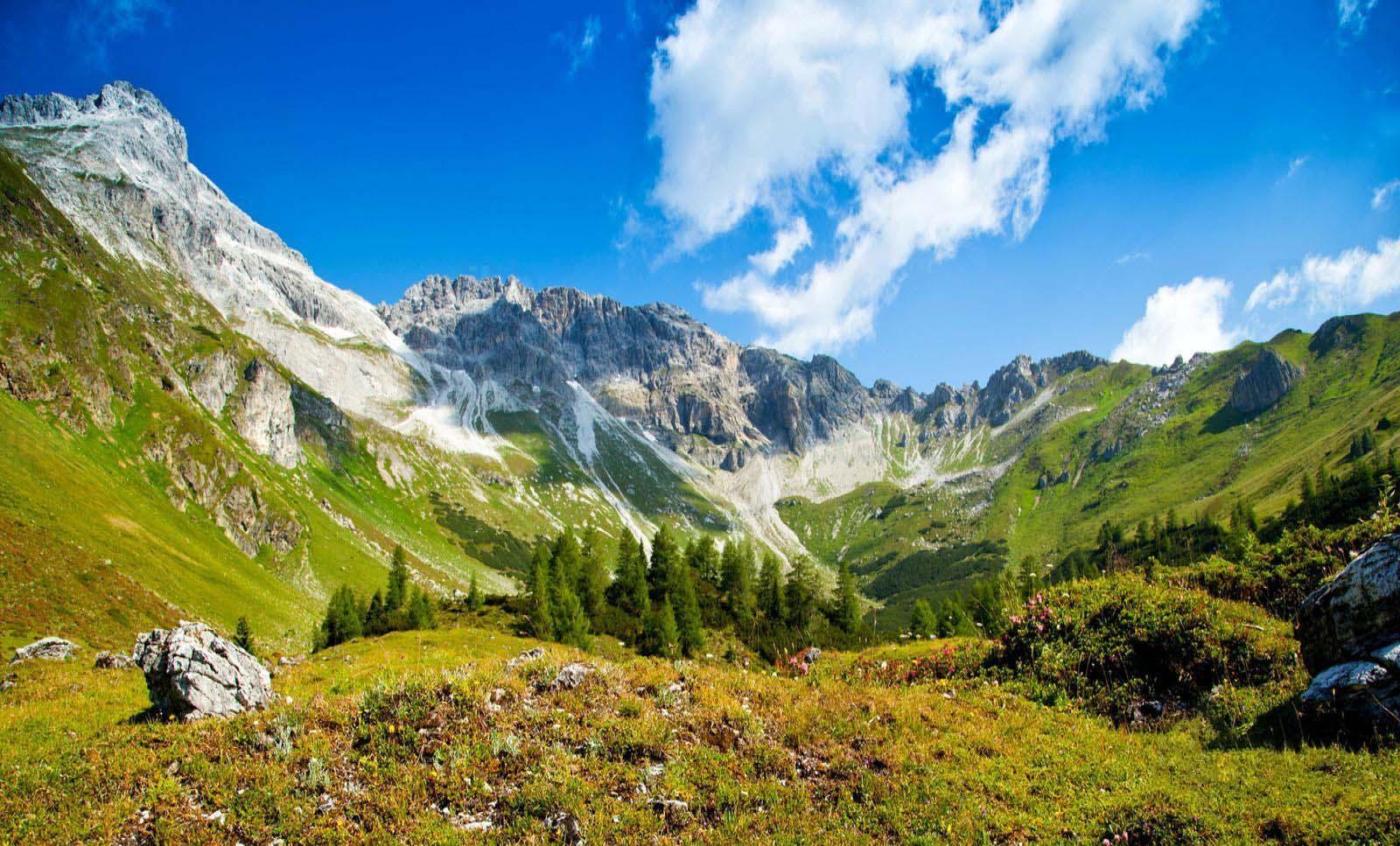 Hình ảnh thiên nhiên núi đồi đẹp nhất