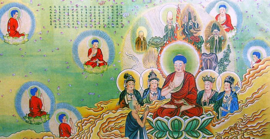 Hình ảnh tranh Phật đẹp