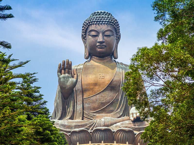 Hình ảnh tượng Phật ngoài đời