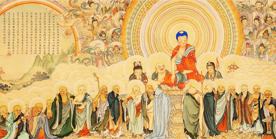 Hình ảnh vẽ Phật đẹp nhất