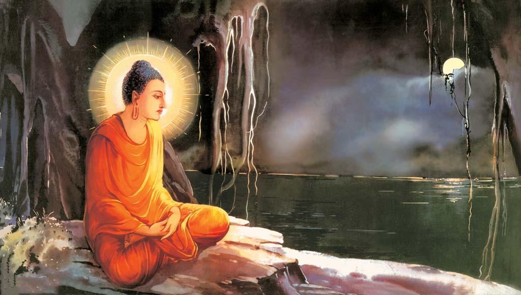 Hình ảnh vẽ Phật đẹp