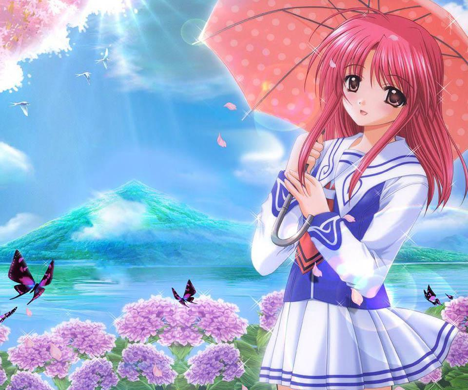 Ảnh đẹp hoạt hình anime girl