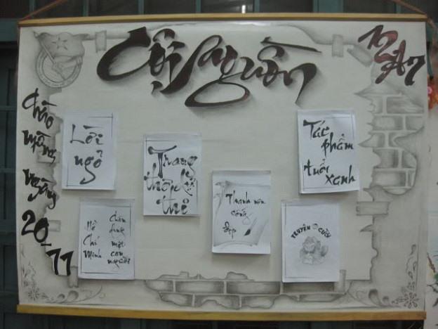 Hình ảnh báo tường