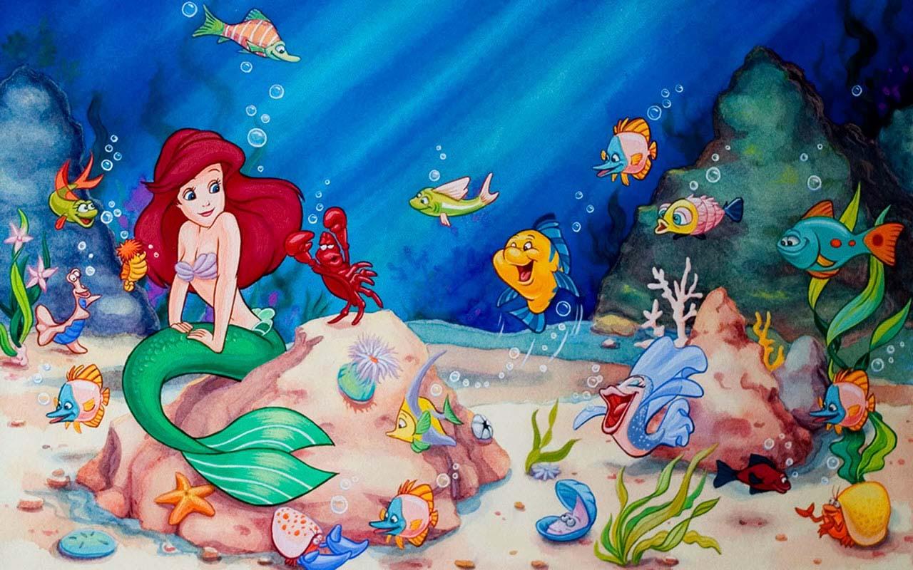 Hình ảnh hoạt hình biển cả đẹp