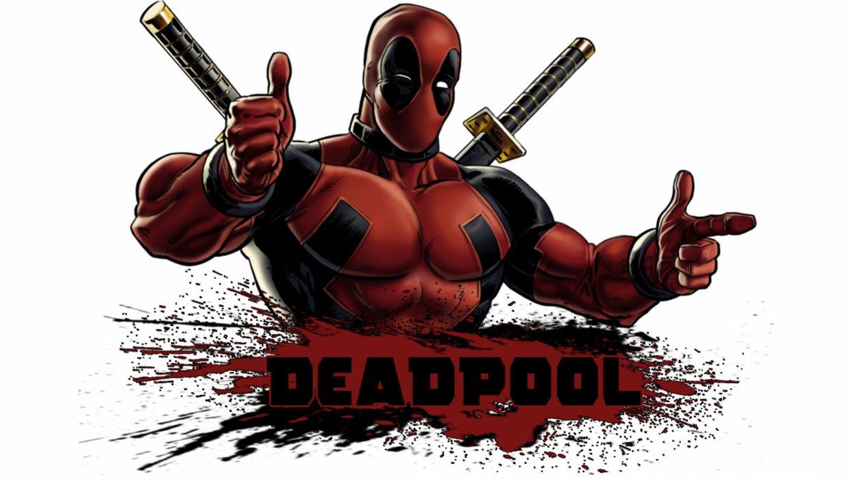 Hình ảnh hoạt hình deadpool đẹp