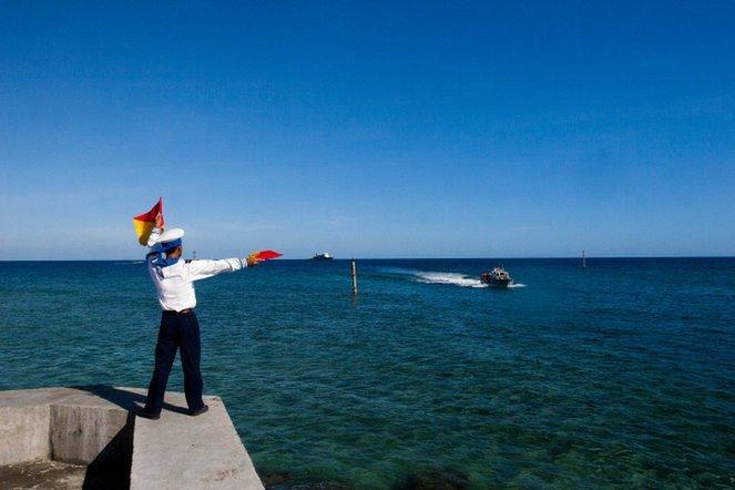 Ảnh đẹp cảnh sát biển Việt Nam