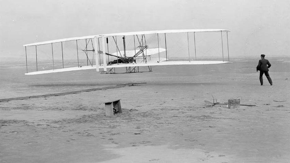 Ảnh đẹp máy bay đầu tiên được phát minh