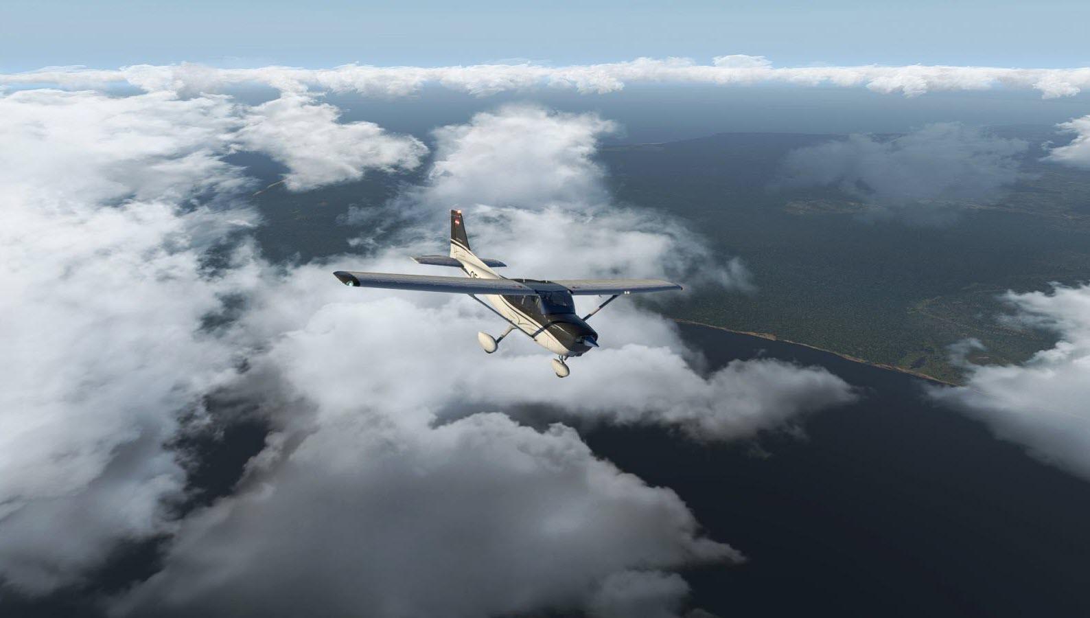 Ảnh máy bay trên mây đẹp