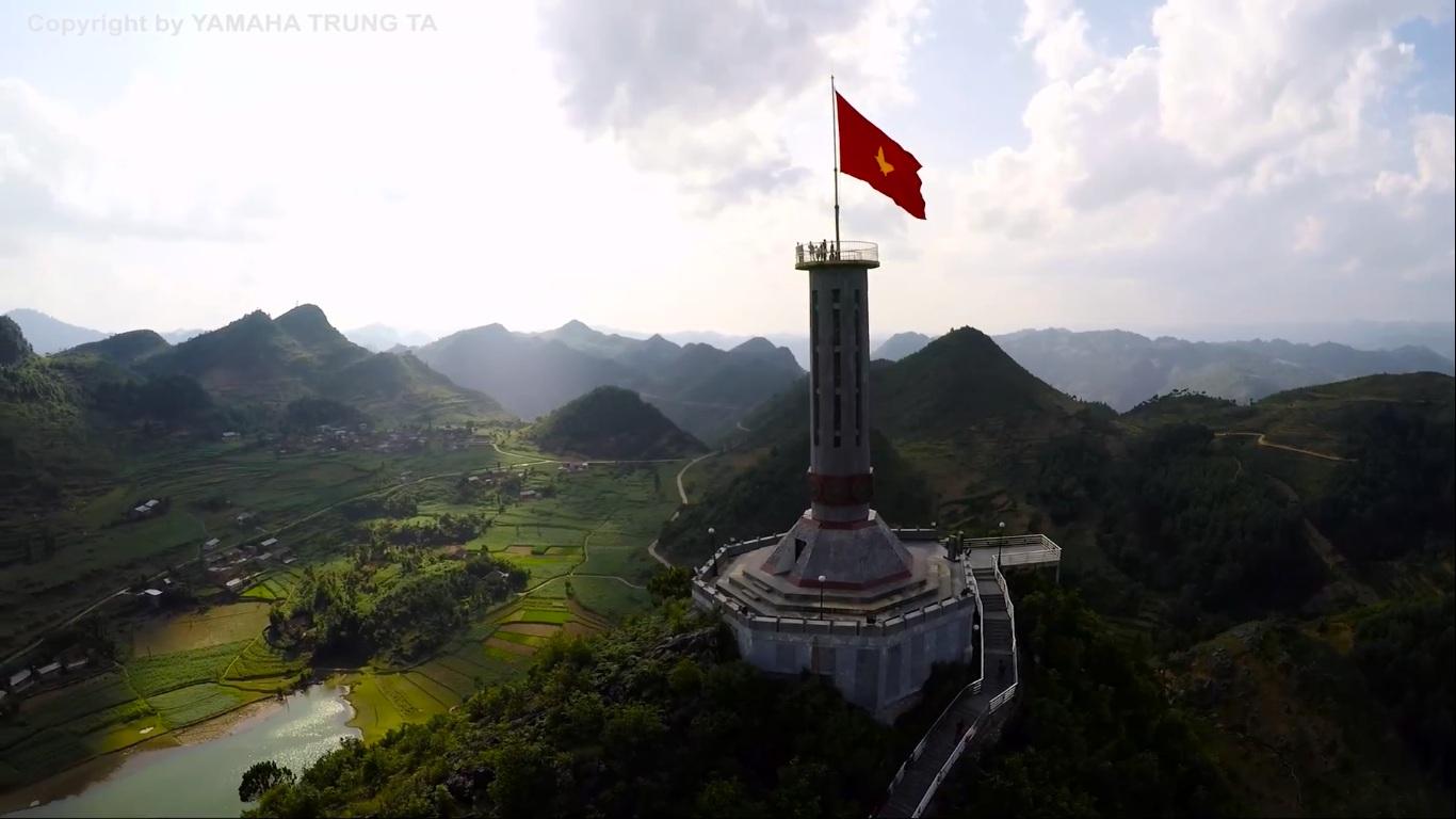 Hình ảnh cột cờ Việt Nam đẹp