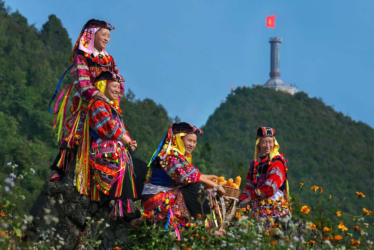 Hình ảnh đẹp con người Việt Nam