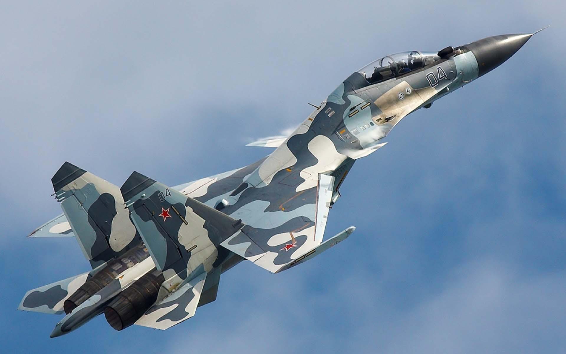 Hình ảnh đẹp máy bay chiến đấu của Nga