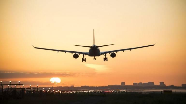 Hình ảnh đẹp máy bay hạ cánh