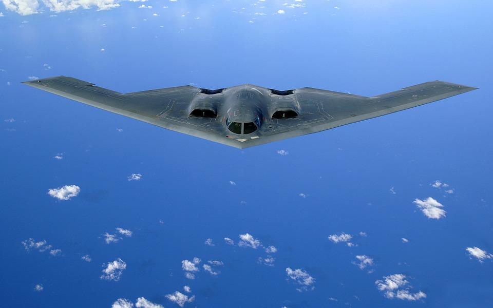 Hình ảnh đẹp máy bay ném bom tàng hình