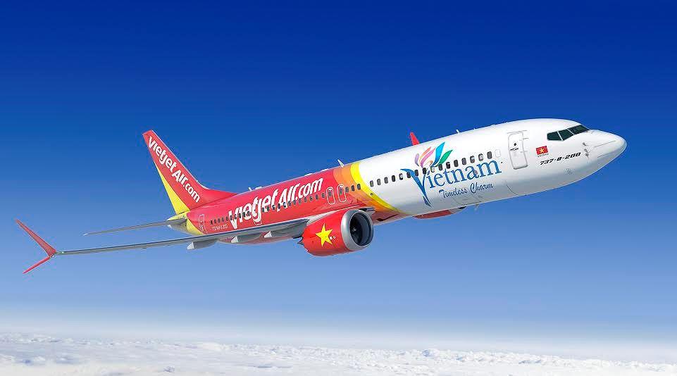 Hình ảnh máy bay Việt Nam đẹp