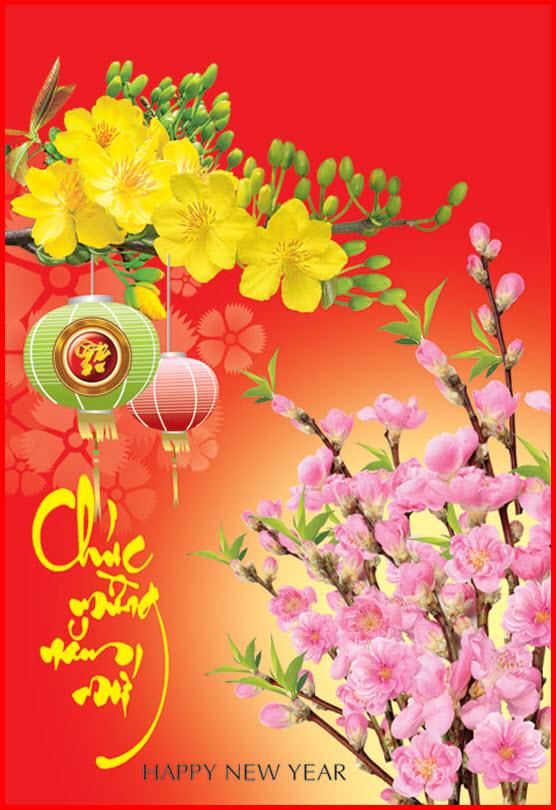 Thiệp chúc tết năm mới
