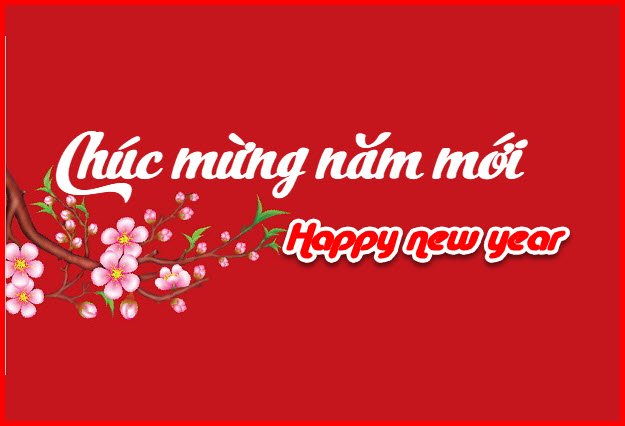Thiệp happy new year