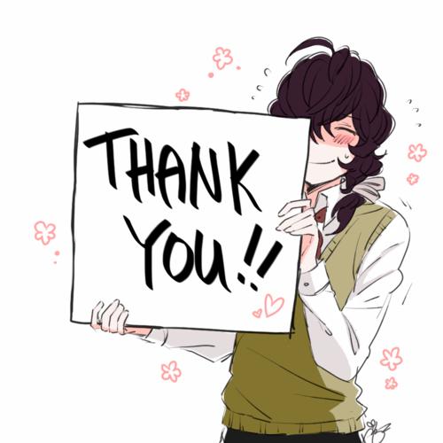 Ảnh cảm ơn đẹp và cute