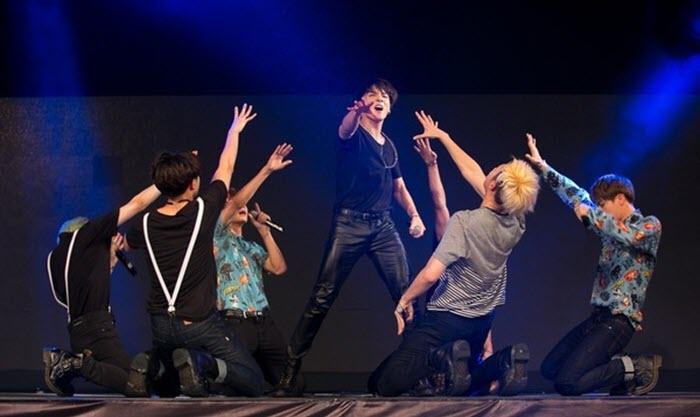 Ảnh đẹp BTS trên sân khấu