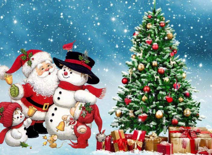 Cây thông Noel trong lễ giáng sinh