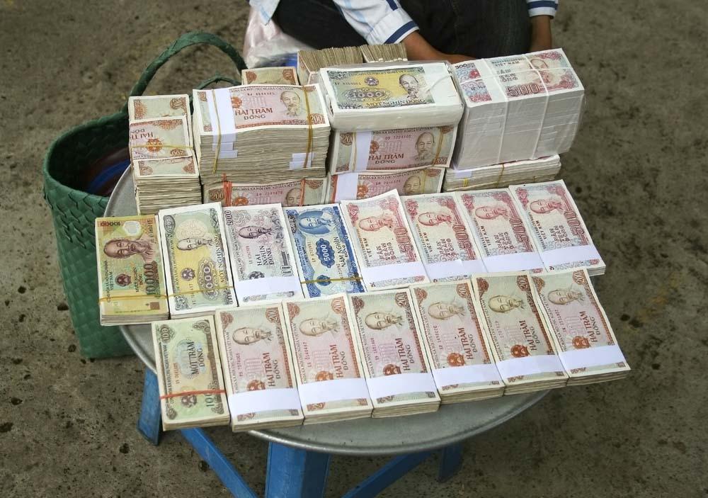 Hình ảnh tiền đẹp và độc đáo
