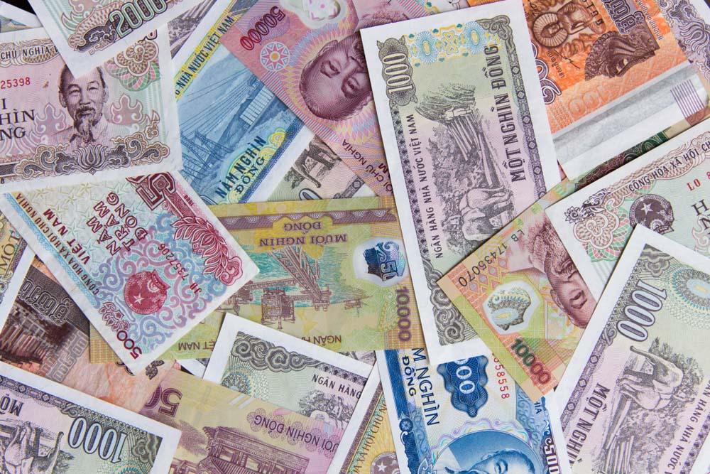 Hình ảnh tiền Việt Nam