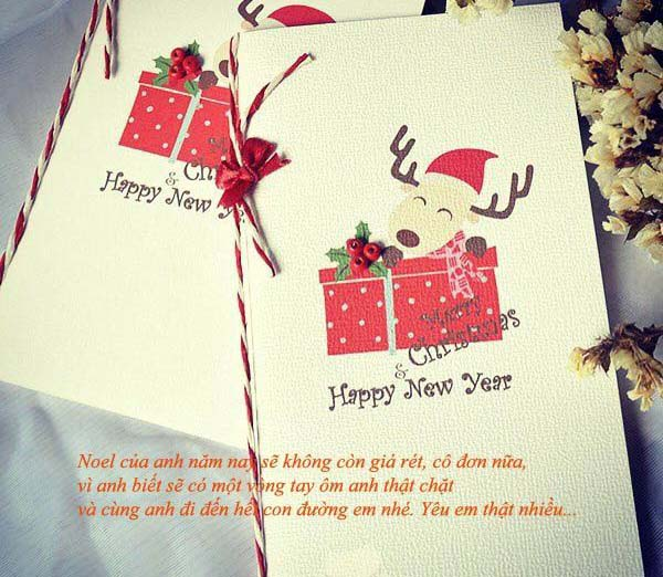 Những lời chúc giáng sinh trên thiệp dành tặng người thân đẹp nhất