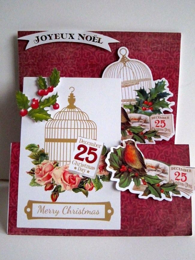 Tổng hợp những tấm thiệp giáng sinh mang không khí Noel