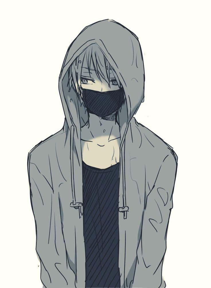 Ảnh anime boy buồn và lạnh lùng
