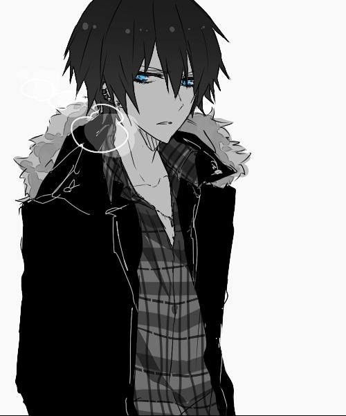 Ảnh anime boy buồn