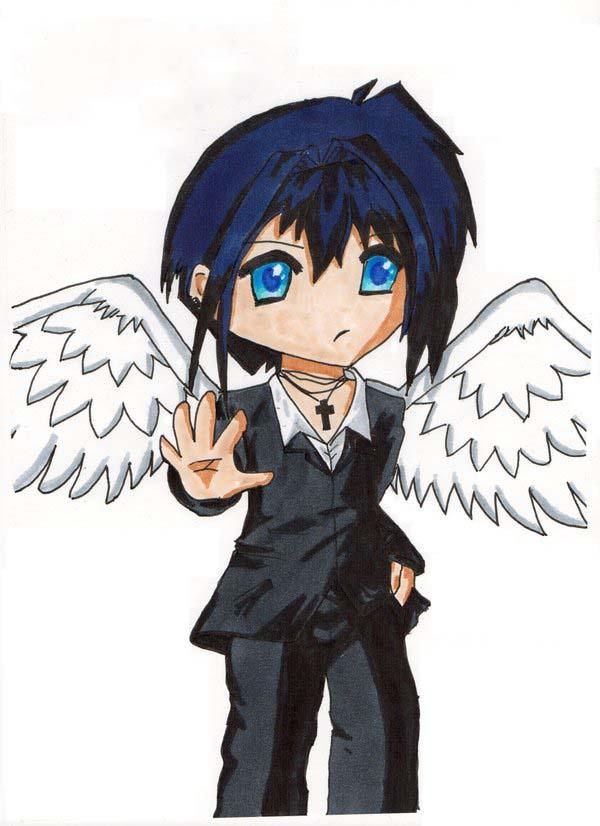 Ảnh anime chibi thiên thần