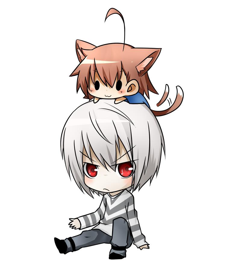 Ảnh đẹp anime boy chibi