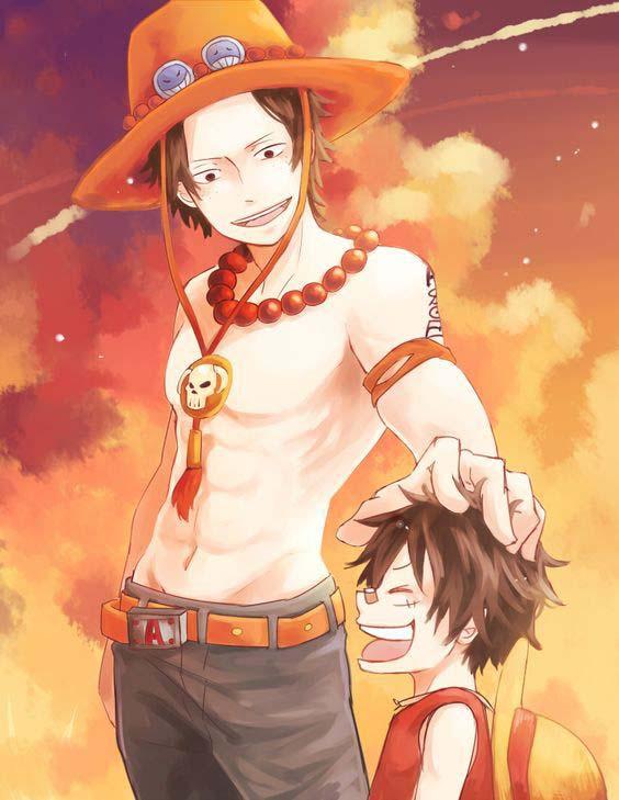 Ảnh đẹp Luffy bé