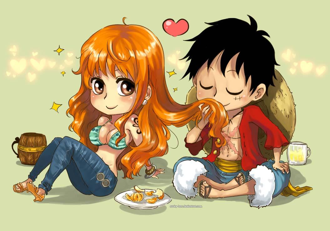 Ảnh đẹp Luffy Nami