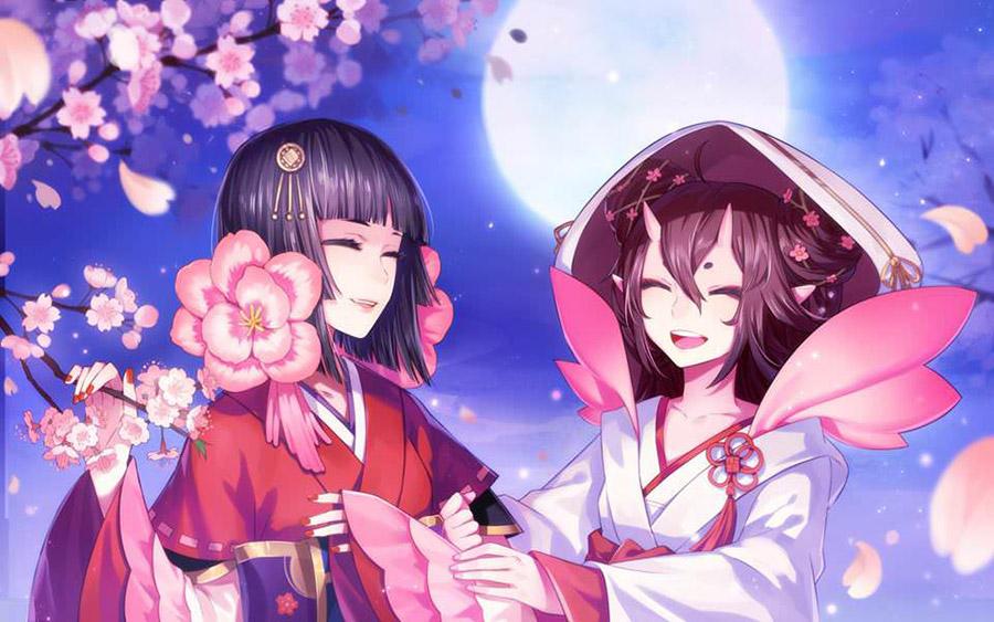 Ảnh đẹp về Sakura và người bạn Tomoyo