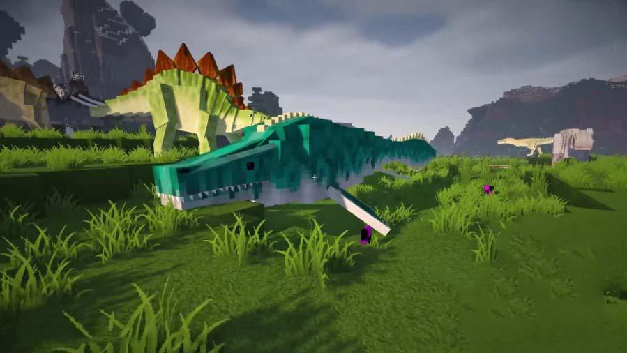 Ảnh khủng long minecraft
