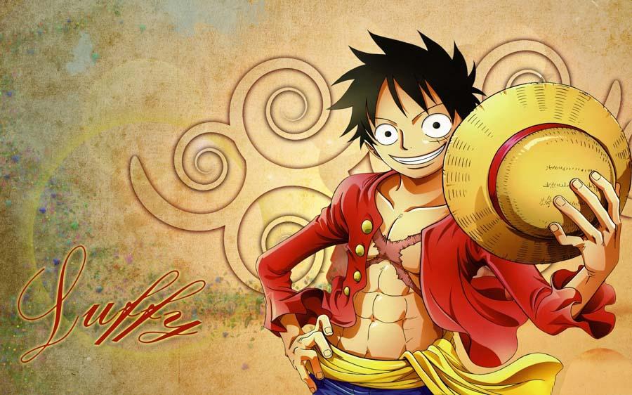 Ảnh Luffy đẹp và lạ