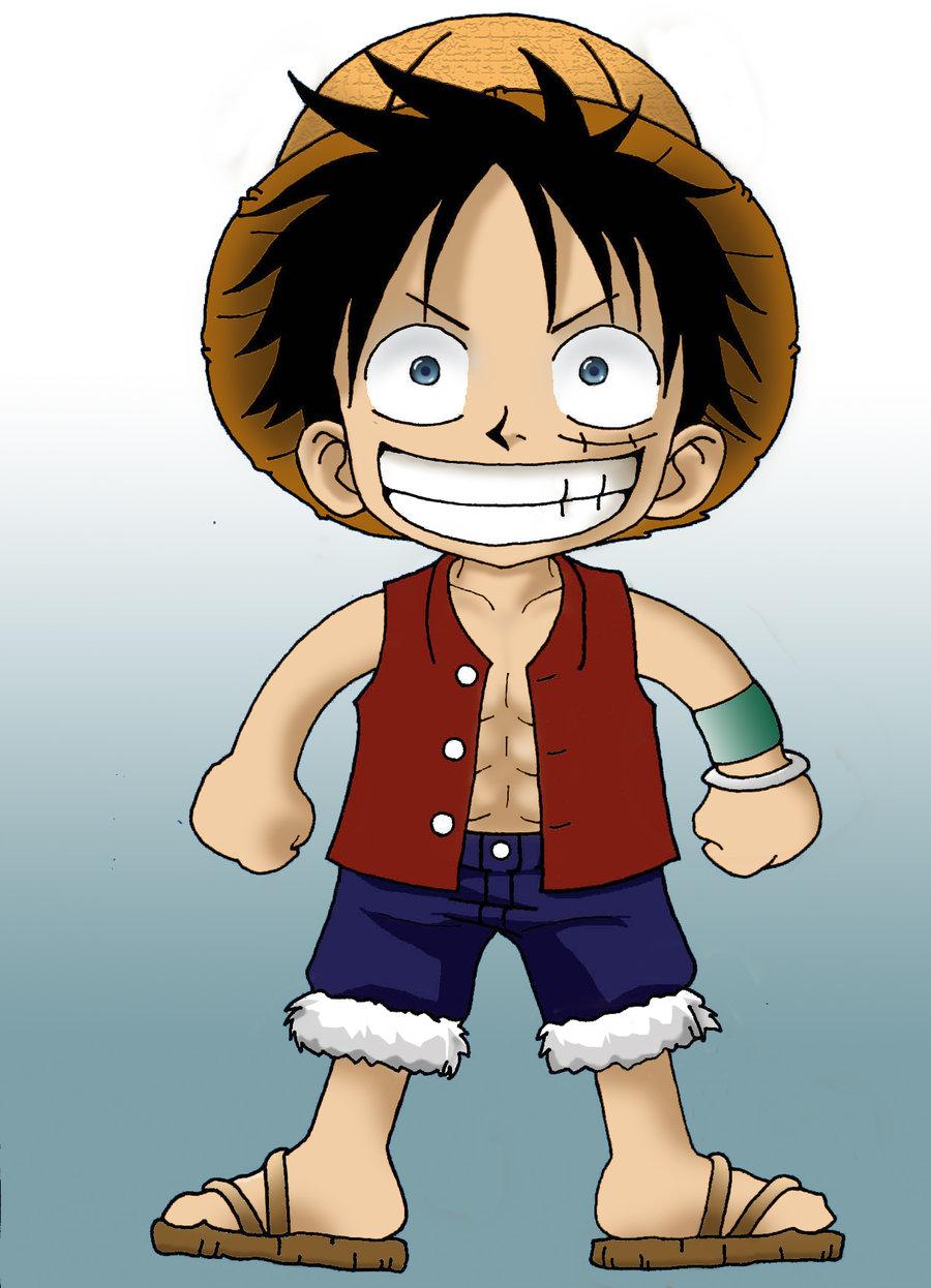 Ảnh Luffy ngộ nghĩnh đáng yêu